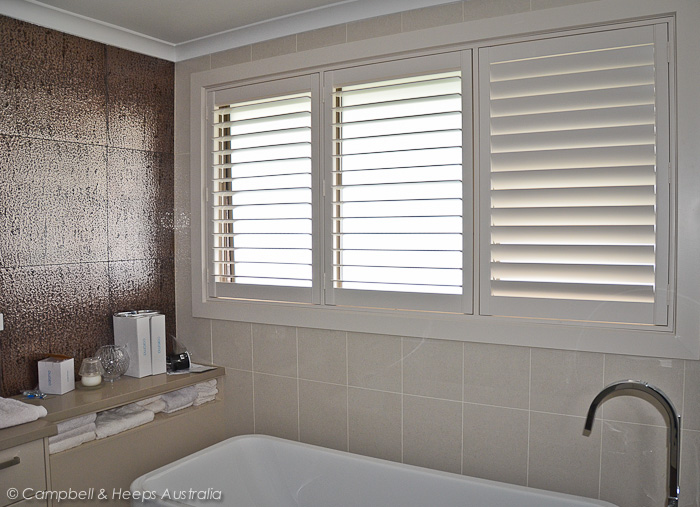 White canvas curtains - Campbell Amp Heeps Plantation Shutters Melbourne Campbell
