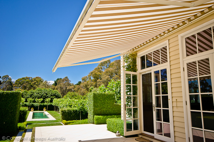 Campbell Heeps Folding Arm Awnings Melbourne Campbell