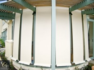 Geared Straight Drop Blinds
