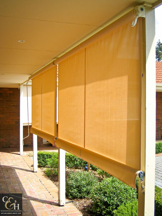 Geared Straight Drop Blinds-9