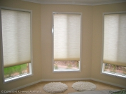 Honeycomb blinds 8.1 in a bathroom