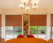 Bonded roller blinds 4.5 inside a house