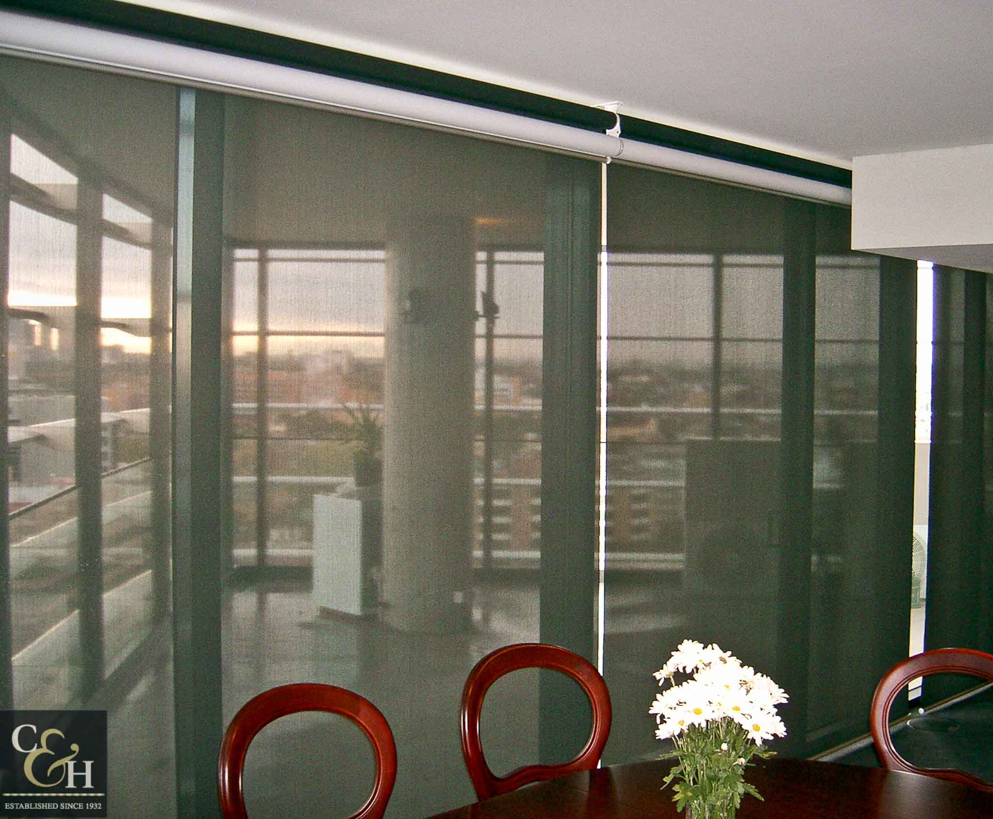 Dual-Roller-Blinds-2 in an apartment