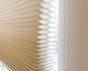 cellular honeycomb blinds 25 in a building