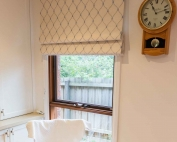 A window with roman blinds 54 on from Campbell & Heeps