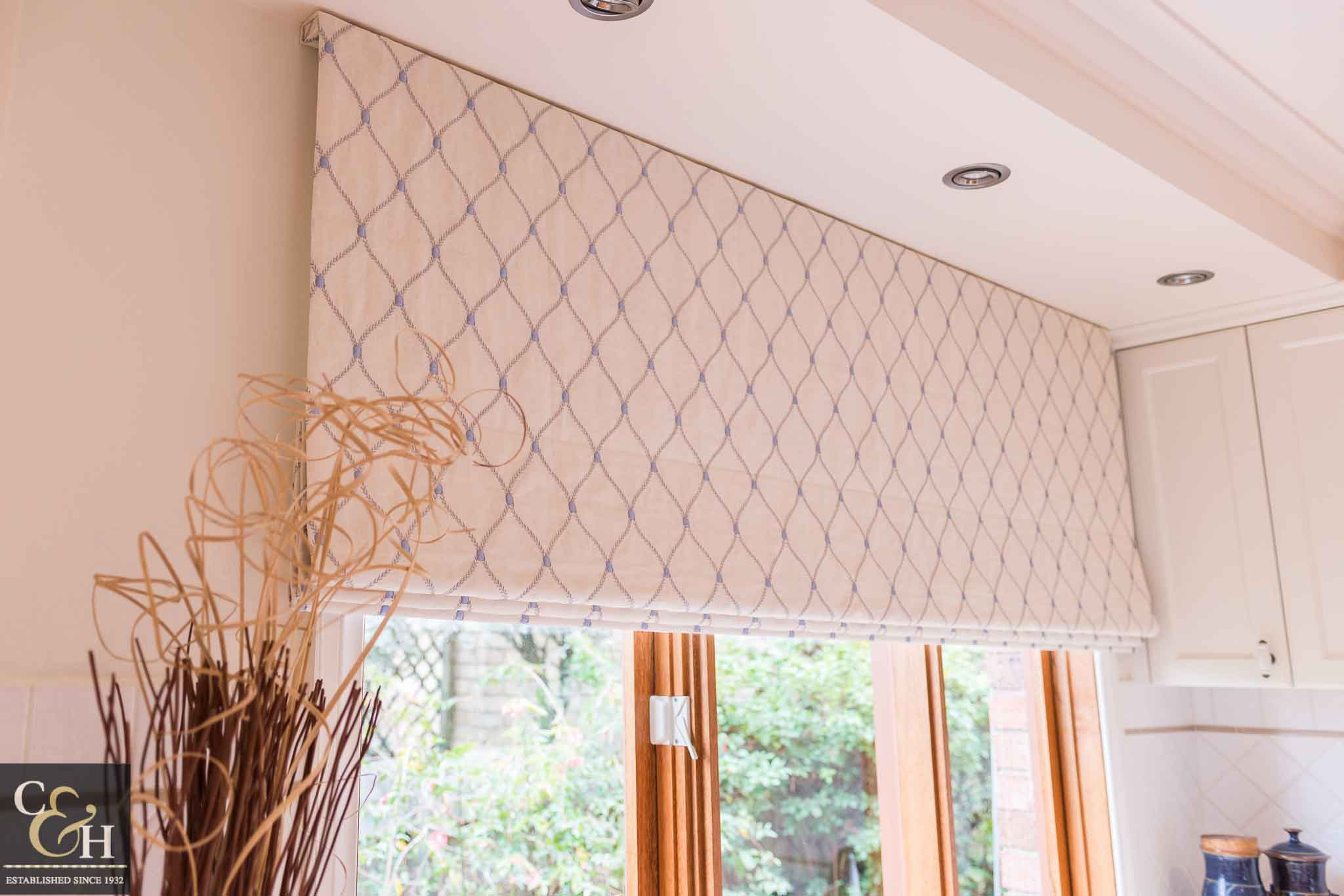 A room with roman blinds 58 from Campbell & Heeps