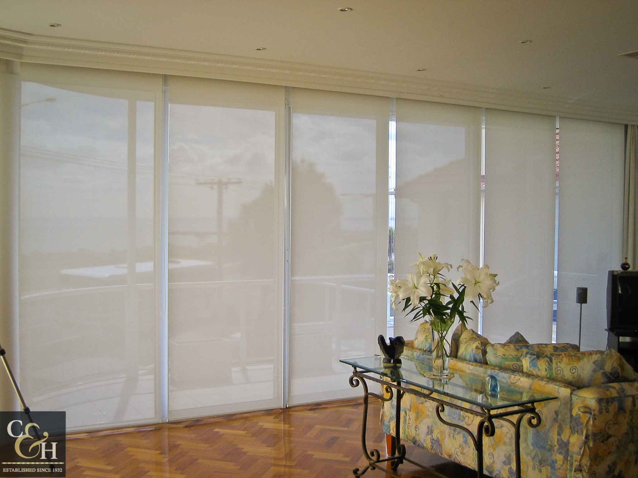 Screen-Roller-Blinds-22 inside a living room