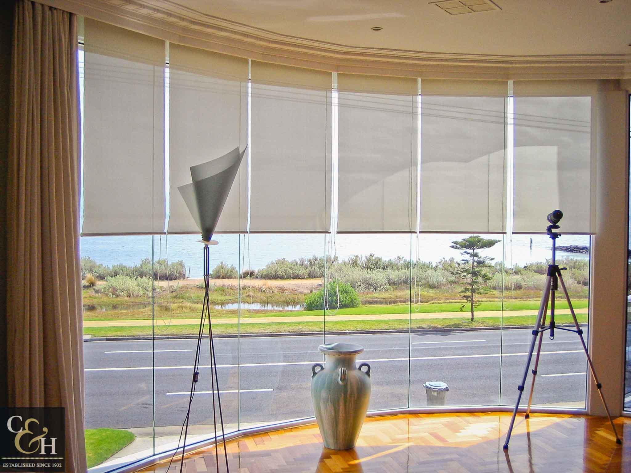 Screen-Roller-Blinds-23 inside a living room