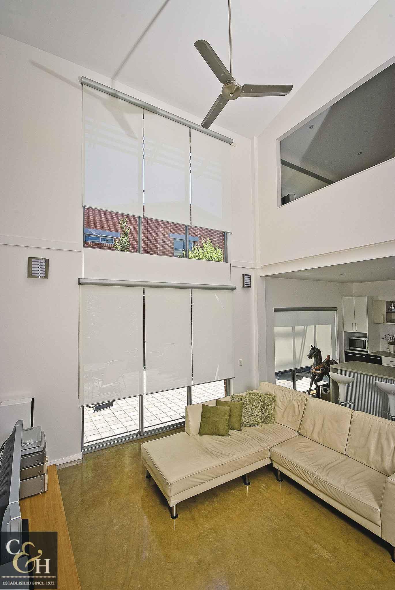 Screen-Roller-Blinds-4 inside a living room