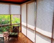 Screen roller blinds 42 inside an apartment