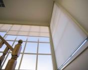 Screen roller blinds 43 inside an apartment