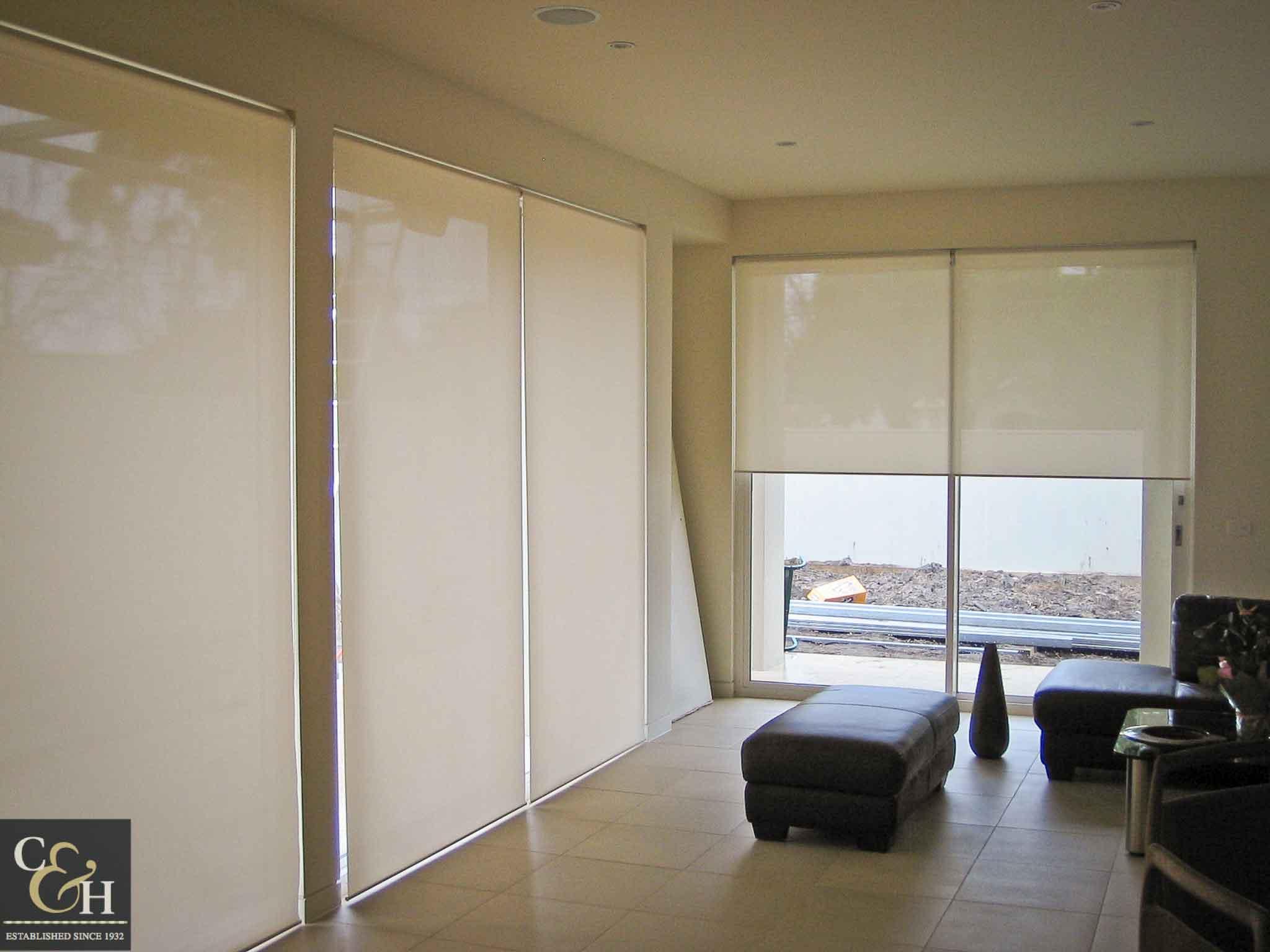 Screen-Roller-Blinds-8 inside a house