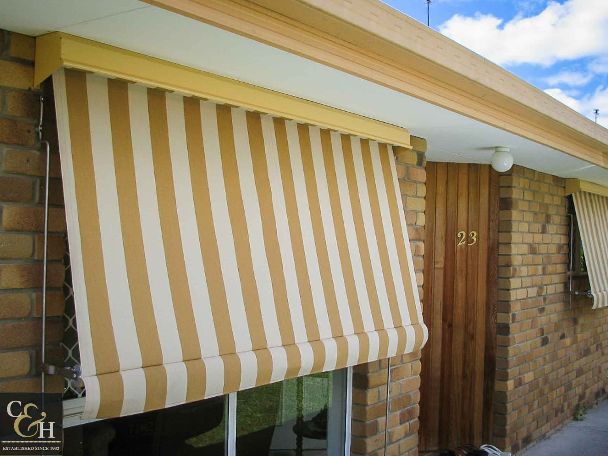 collections awning by us pergola retractable made pergoal en shade using sunbrella collection silver fabric both canvas shaded and textiles patio a is