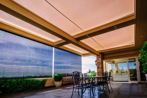 overhead-patio-awnings-and-straight-drop-blinds-melbourne