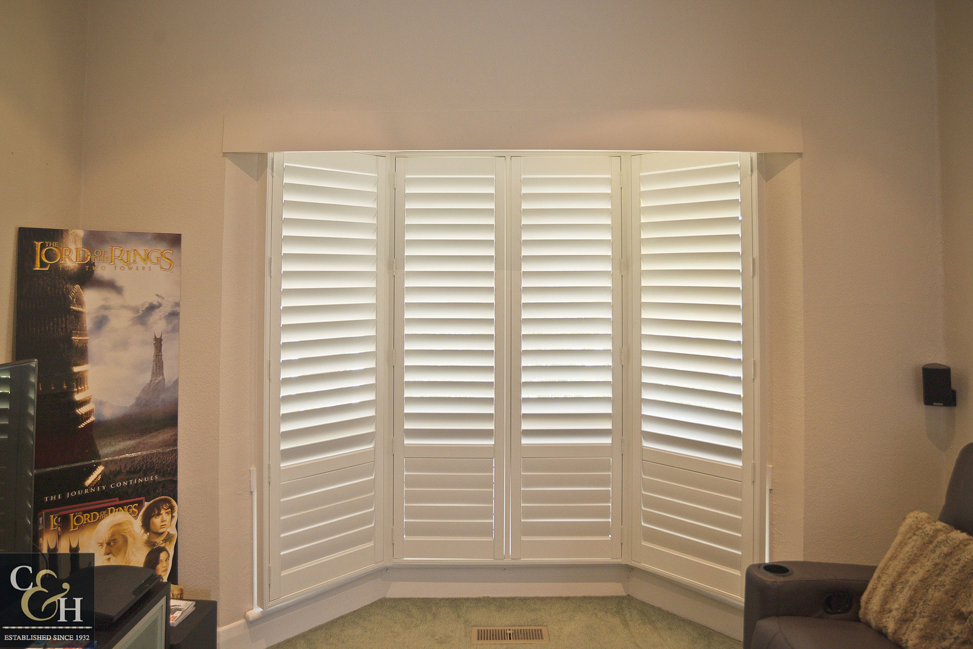 Plantation Shutter Bay window melbourne
