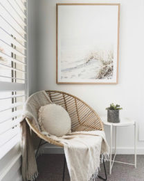 Interior plantation timber shutters white Melbourne